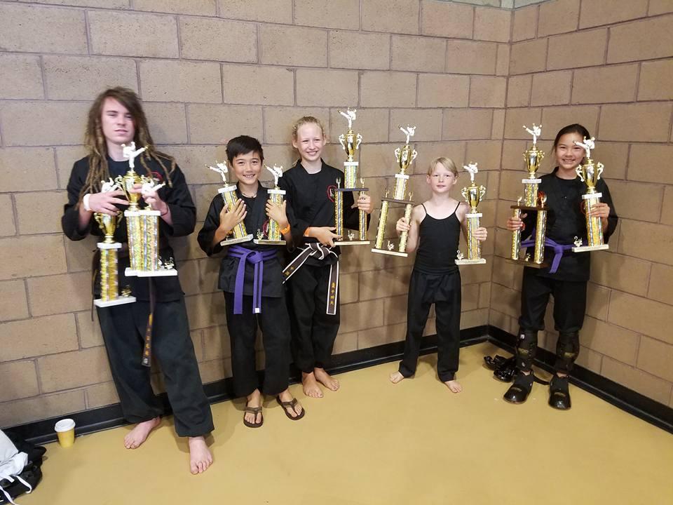 Santa Barbara Kung Fu Tournament 2017